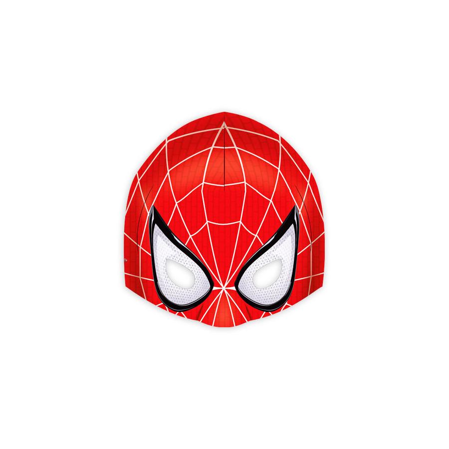 Máscara Spider Homem Aranha Amazing 6Un