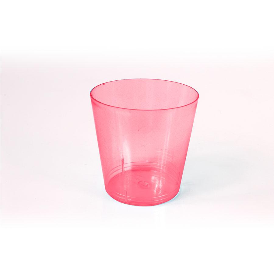 Mini Copo Para Brigadeiro 25Ml Rosa Neon