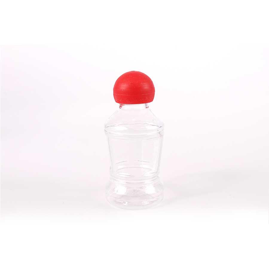 Mini Frasco Tampa Vermelha