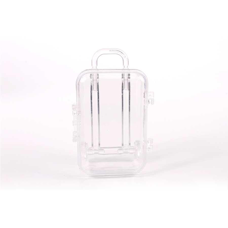 Mini Maleta Transparente / Incolor