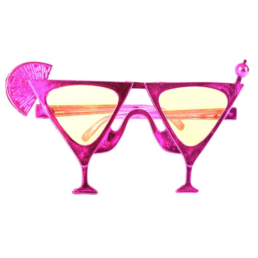 Óculos Chic Drink Metalizado