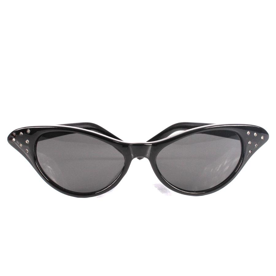 Óculos Gatinha Strass Luxo