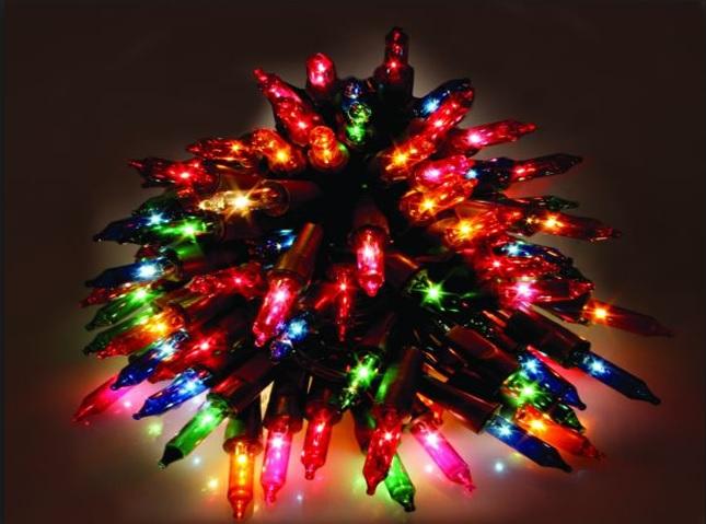 Pisca Simples Colorido 100 Lampadas