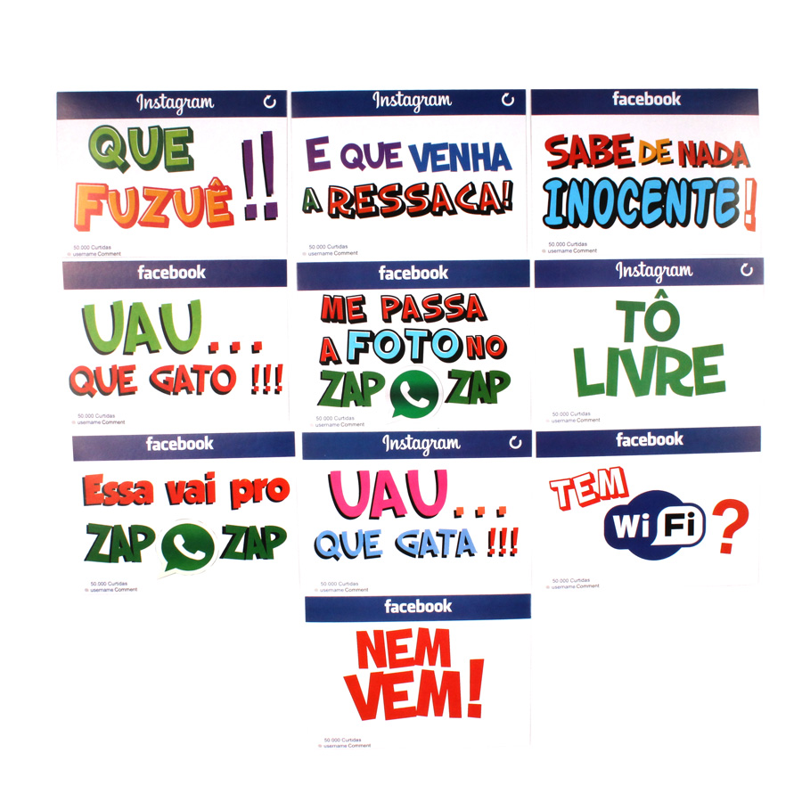 Placas Animadas Mix 3 ( 10Un )