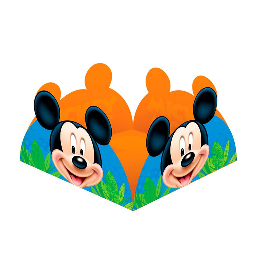 Porta Forminha Mickey 50Un
