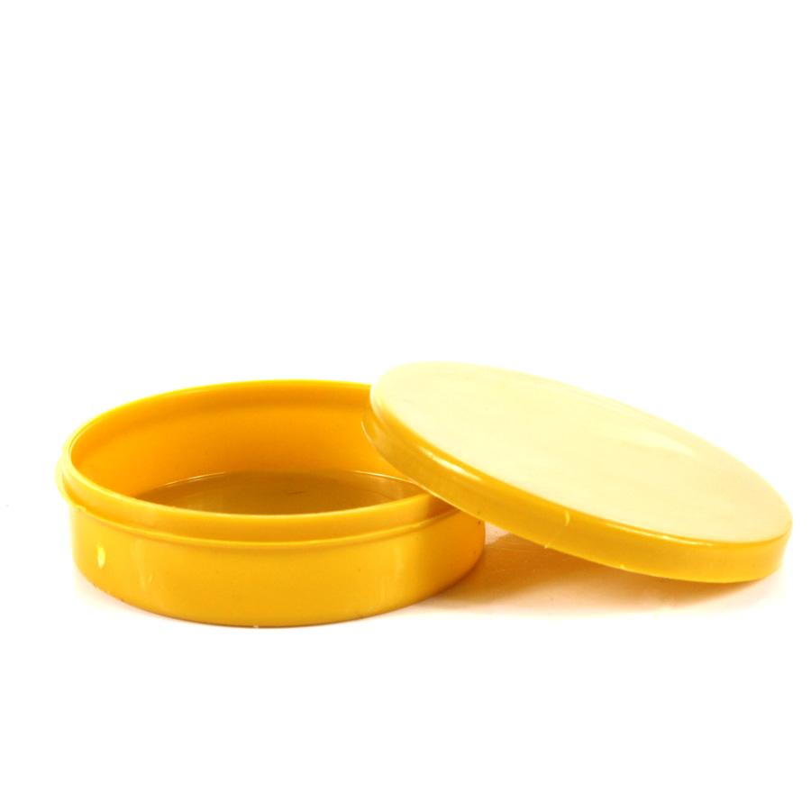 Potinho Plástico Amarelo