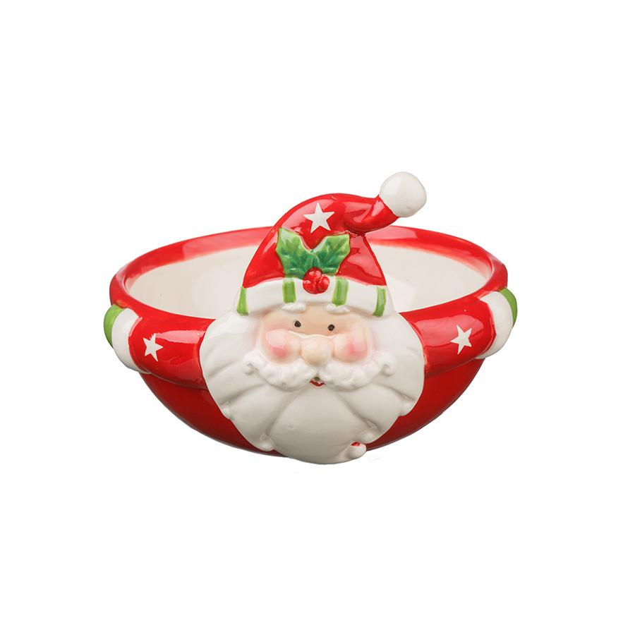Tigela Papai Noel Cerâmica Finlândia