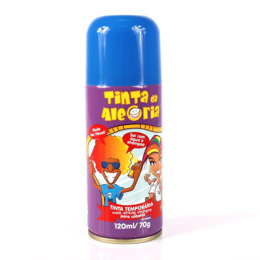 Tinta Para Cabelo Fashion Azul 120Ml