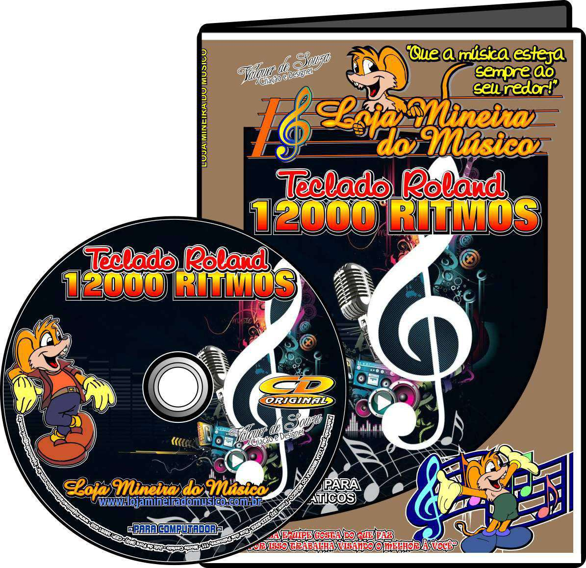 12000 Ritmos para Teclado Roland Ritmos ( Super Ritmos para Roland )
