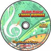 12000 Ritmos para Teclado Roland em CD (Super Ritmos para Roland )
