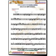 TROMBONE Gospel 60 Partituras e Playbacks em CD - Promo��o Trombone
