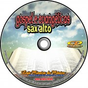 SAX ALTO 60 Partituras Gospel com Playbacks Gospel e Evang�licas em CD