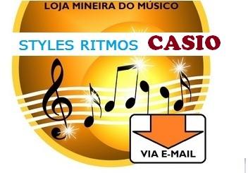 48 Ritmos Brasileiros para Teclados Casio - Toda Linha CTK- 6200, 7000, 8000 e WK-7500
