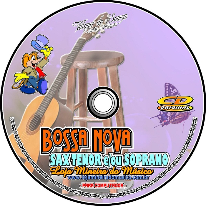 BOSSA NOVA e SAMBA Sax Tenor | Soprano Partituras e Playbacks Sax Bb