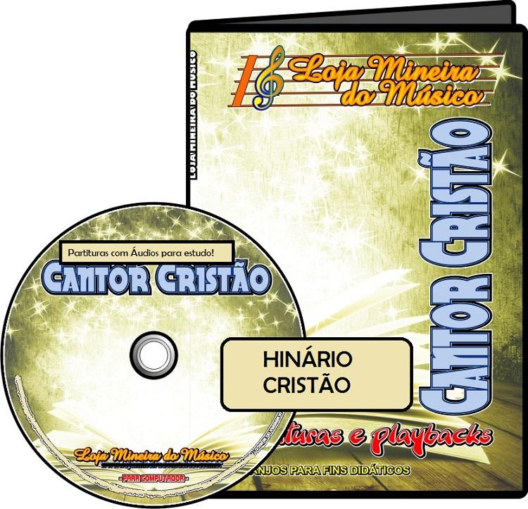 HINÁRIO CANTOR CRISTÃO COM ÁUDIOS E PARTITURAS (E-MAIL)