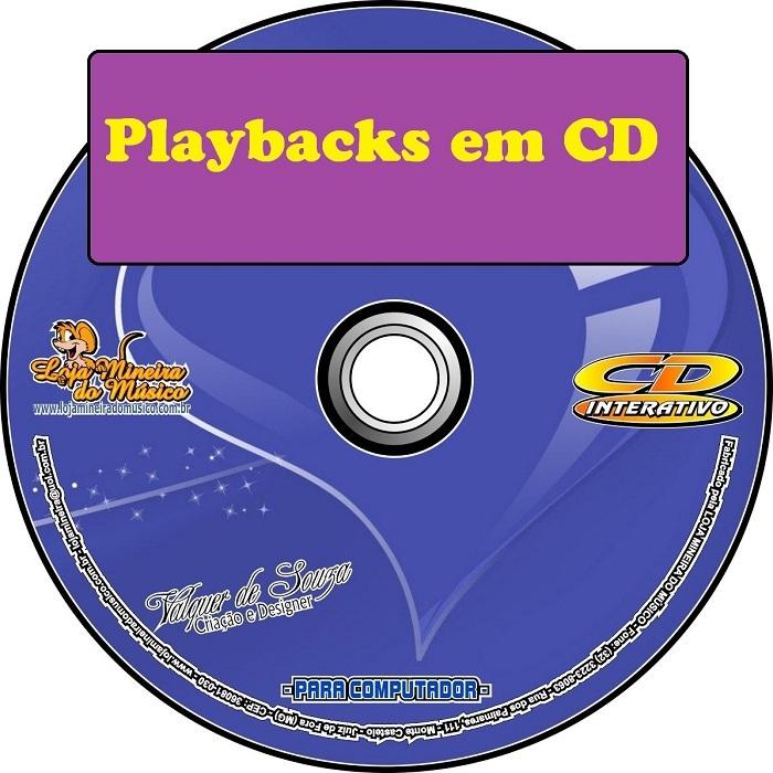 CDs de Playbacks Variados em MP3 (Selecione o seu)