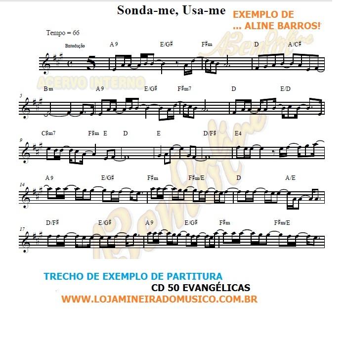FLAUTA ou VIOLINO Partituras Evangélicas com Playbacks Gospel 50 Músicas (Volume 1)