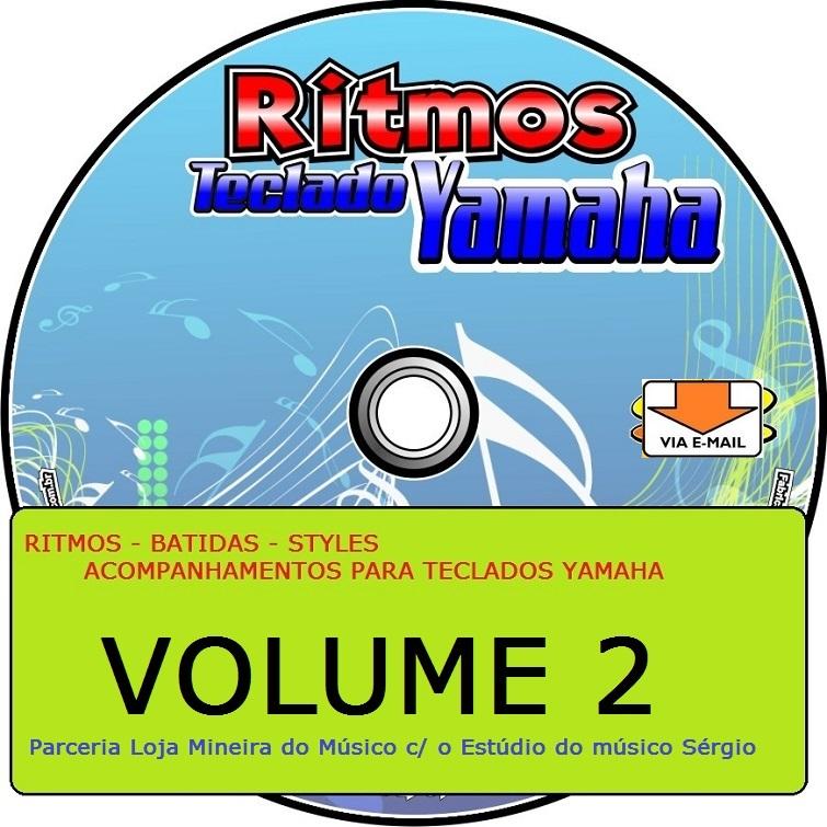 Ritmos novos para Teclado Yamaha Introdução, Variação e Finalização (Coleção 2)