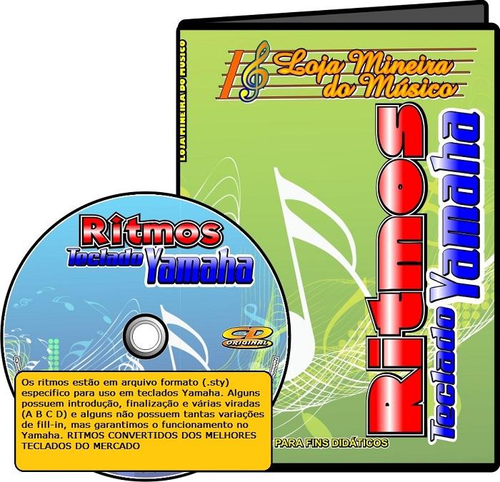 Ritmos YAMAHA ( Milhares de Styles Para Teclado Yamaha ) pacote de ritmos yamaha
