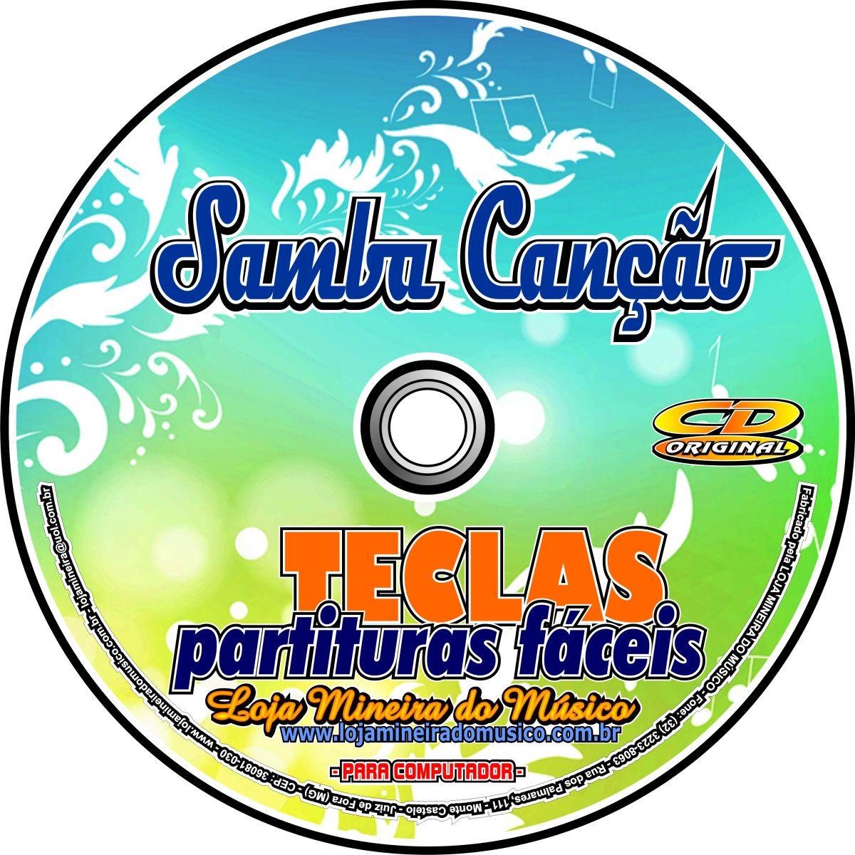 Samba Canção Partituras Fáceis na Clave de Sol | Partituras de Samba (sem playbacks)