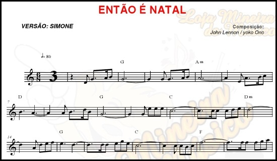Sax Tenor | Soprano Partituras de Natal com Midi e MP3 Playbacks Natalinos