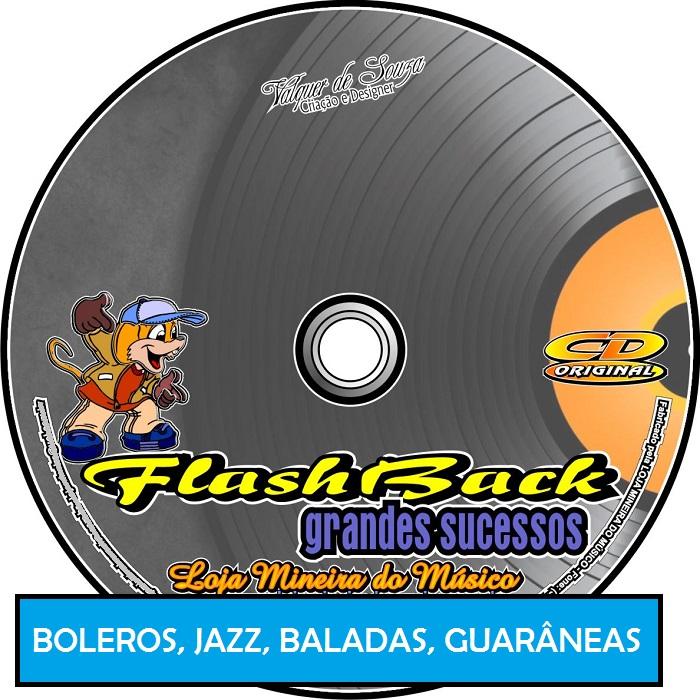 Trombone Partituras Sambas Guarâneas Boleros Baladas e Jazz - Flashbacks com Playbacks MP3 e Midis