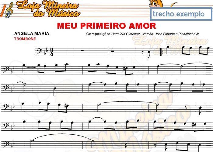 Trombone FlashBack Boleros Sambas Baladas e Jazz Partituras e Playbacks MP3 e Midis