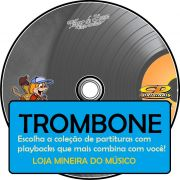 TROMBONE Partituras Católicas com Playbacks (Volume 2)