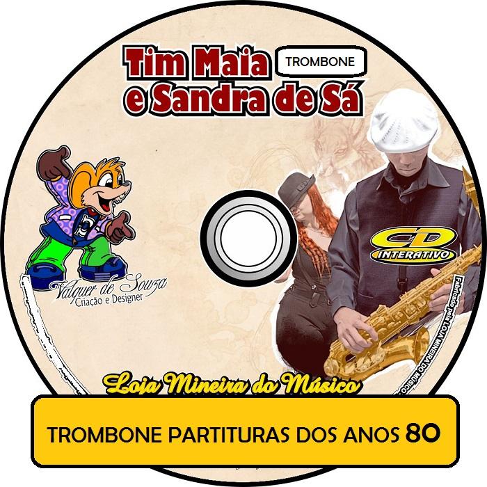 CD TROMBONE ( Partituras na Clave de Fá com Áudios )