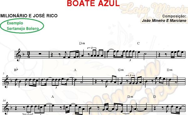 TROMPETE Boleros Sertanejos Partituras e seus 40 Playbacks Sertanejos (também atende a Clarinete)