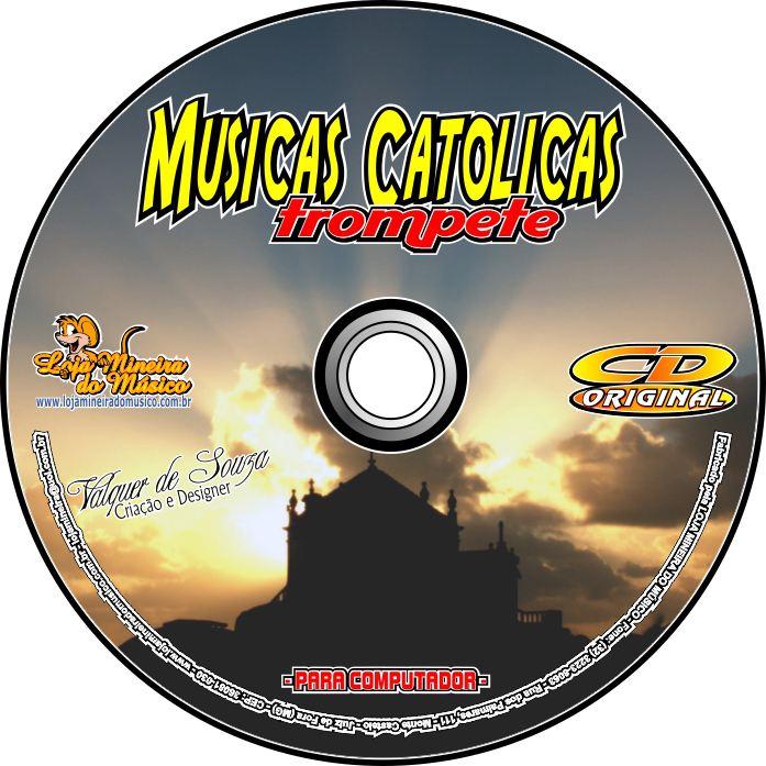 TROMPETE Músicas Católicas Partituras Midis e Playbacks Católicos (Volume 1)