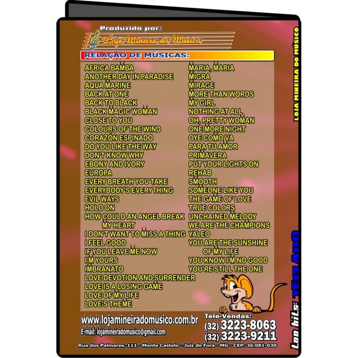 VIOLINO ou FLAUTA Partituras Internacionais para Teclado com Playbacks Internacionais TopHits