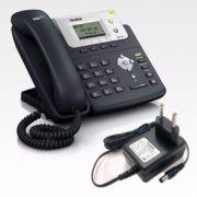 Telefone SEMI NOVO  Yealink SipT21P/E2  PoE -  fonte inclusa -