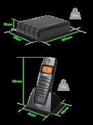 Telefone IP Intelbras TS 60 IP Microcentral IP sem fio