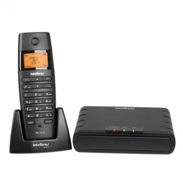 Telefone Sem Fio Intelbras TS 60 IP Microcentral  - Northshop