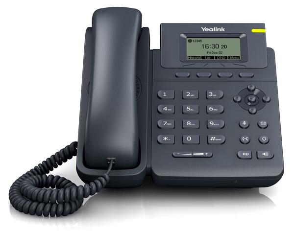 Telefone Yealink T19P E2 N Sip com Display - PoE  - Northshop