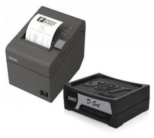 Combo Sat Dimep - + Impressora Epson TM-T20 + Software Marketup  - Northshop
