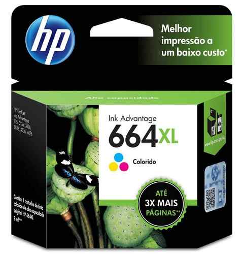 Cartucho HP 664XL colorido F6V30AB HP    - Northshop