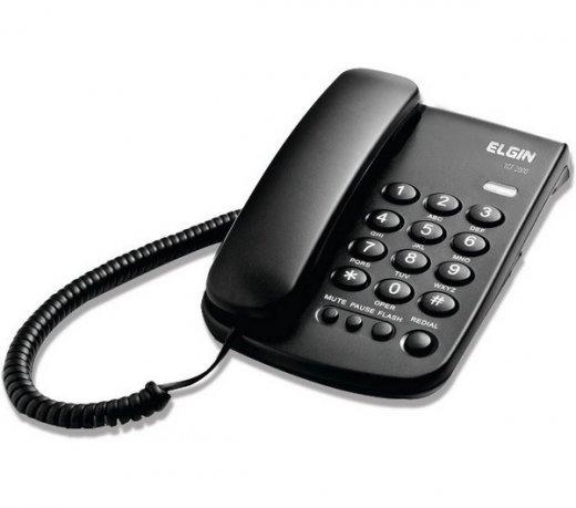 Telefone Com Fio Elgin - TCF 2000  - Northshop
