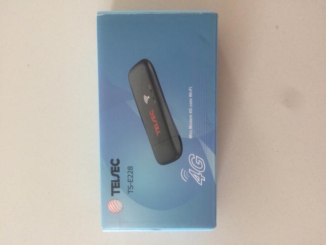 Mini Modem Telsec TS-E228 Wi-Fi - Preto - Wi-Fi Veicular - Ônibus -  Vans - Lanchas -   - Northshop