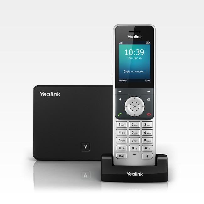 Telefone s/ Fio IP Yealink W56P Dect  - Northshop São Paulo