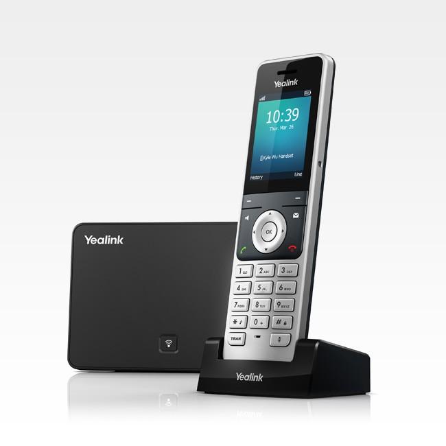 Telefone s/ Fio IP Yealink W56P Dect  - Northshop