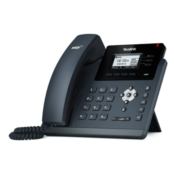 Telefone  IP YEALINK Sip T40G - Skype for Business - Fonte INCLUSA  - Northshop