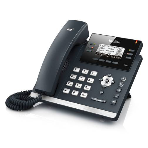 Telefone  Yealink IP T42G  display Sip e Fonte inclusa.  - Northshop
