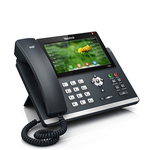Telefone IP Yealink Giga C/ Display Touch SIP-T48G -   - Northshop