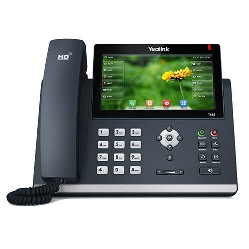 Telefone SIP T48S Yealink - Skype for Business ou Office 365 - Northshop São Paulo