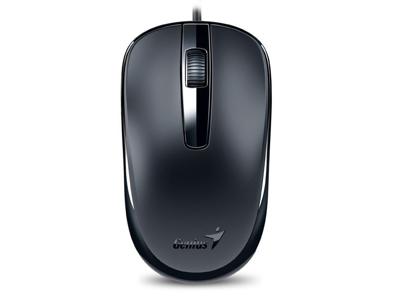 Mouse Genius DX-120 USB Preto 1200 DPI  - Northshop