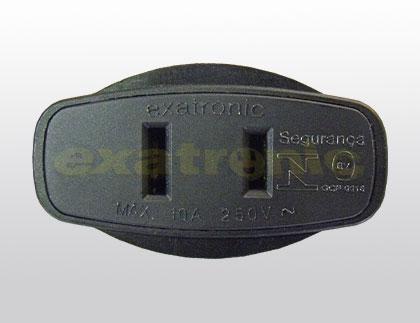 Adaptador de Plug Macho NEMA 2P 10A  - Northshop