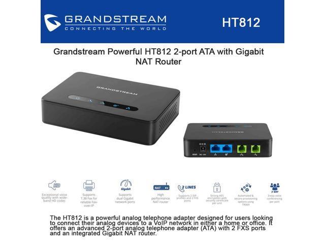 Ata - HT 812 Grandstream   - Northshop