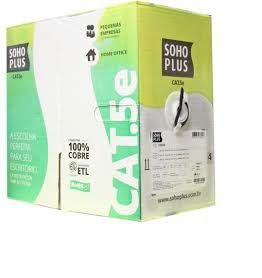 Caixa de Cabo de Rede Cat5e Soho Plus  - Northshop